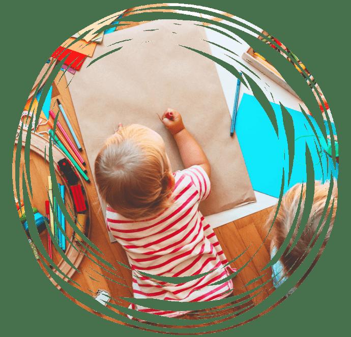 dziecko wtrakcie zabawy